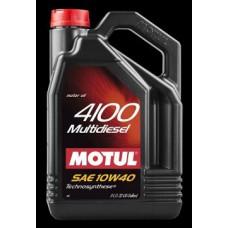 100258 MOTUL 4100 Multidiesel 10w-40 п/с 1 л