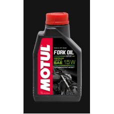 101138 MOTUL Fork Oil Expert medium 15w масло для телескопических вилок 1 л